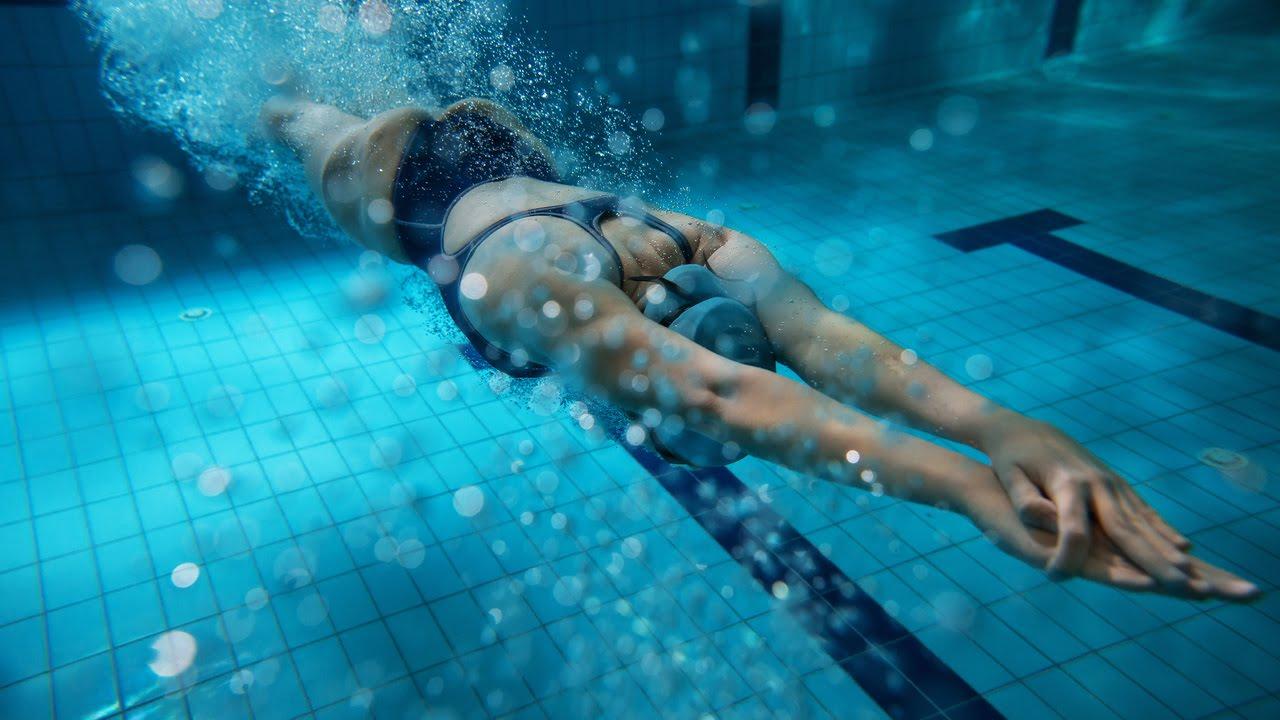 Úszás aerob edzés